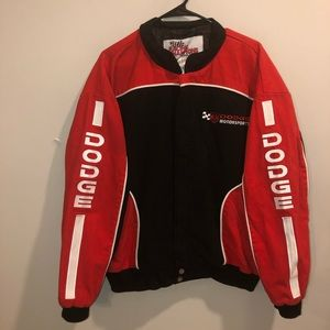 NASCAR Dosge Motorports racing jacket black/ red